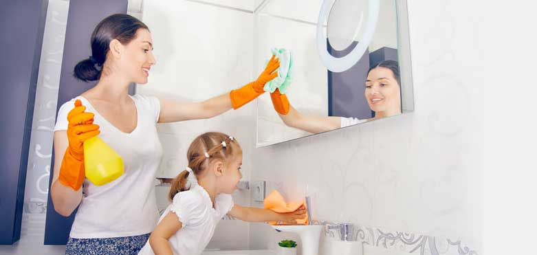 Age appropriate Household Chores for Children.
