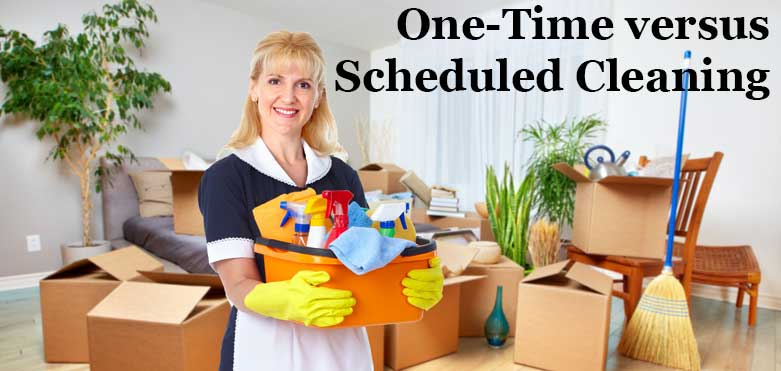 The Main Difference between Regular and One-Off Cleaning Services