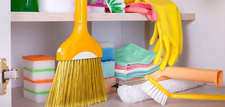 What Is In My Cleaning Closet?